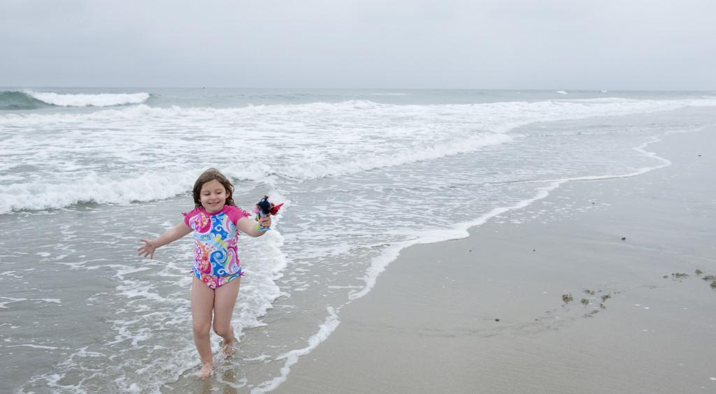 isa and fairies at beach 2
