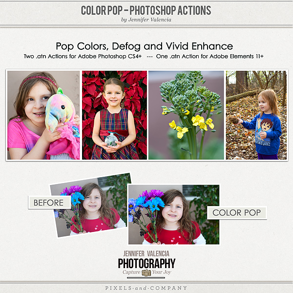 Color Pop Action Template 600