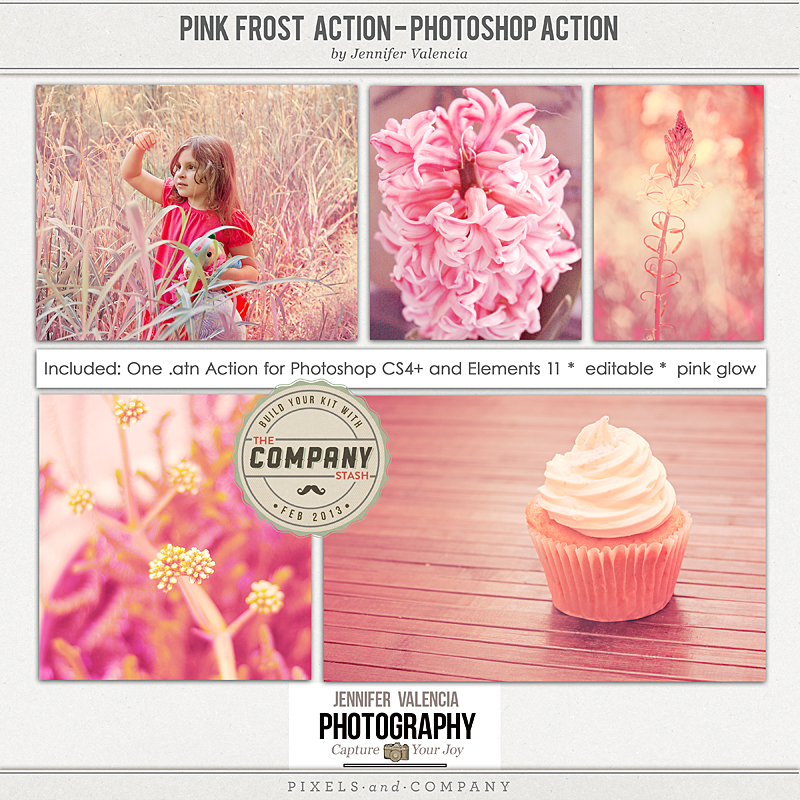 Pink Frost Preview Page web