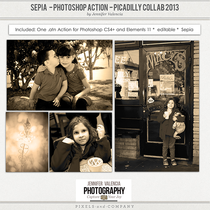 Sepia Action Preview Page