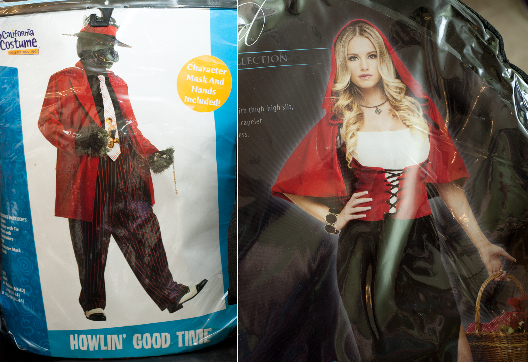 """Howlin Good Time"" Wolf and ""Sexy Red Riding Hood"""