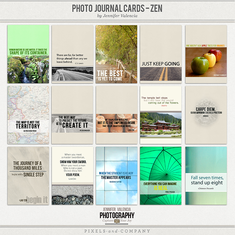photo journal card template3web