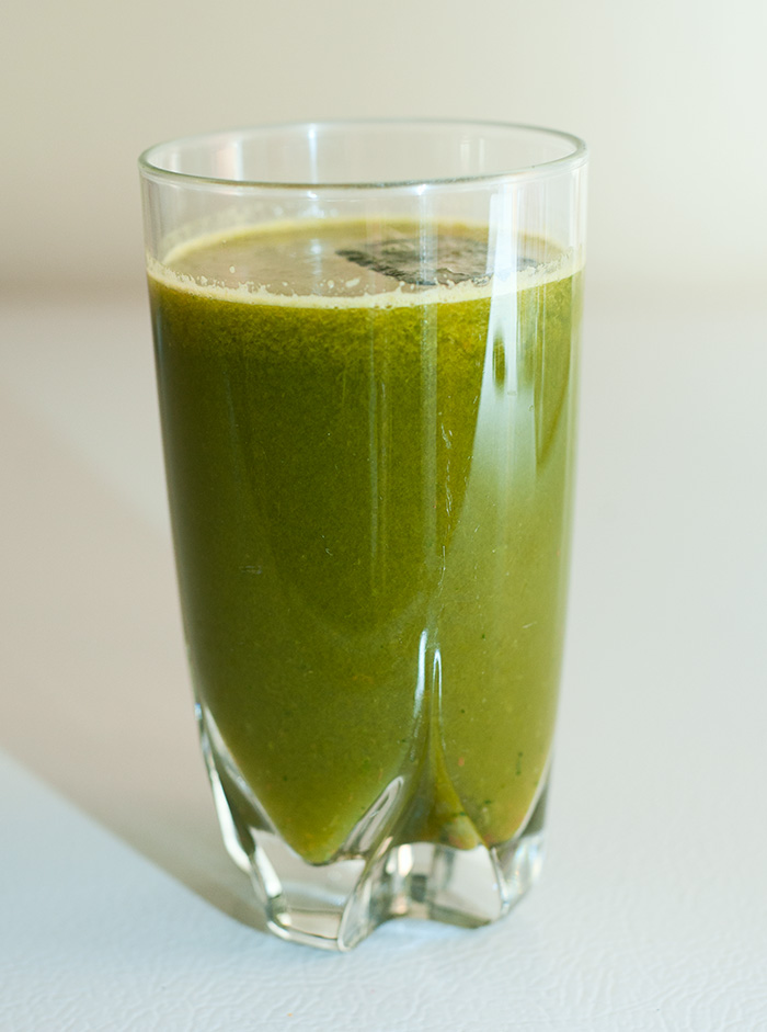 """Mean Green"" Juice"