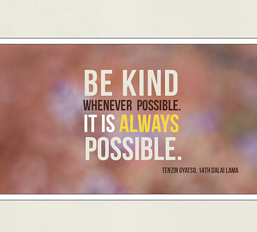 be kind card web