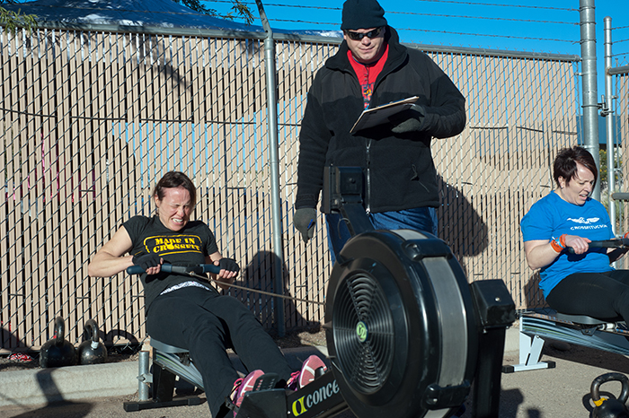 gina on rower 7 web